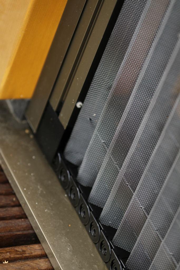 Makrowin HS portál drevo s protihmyzovou sieťou